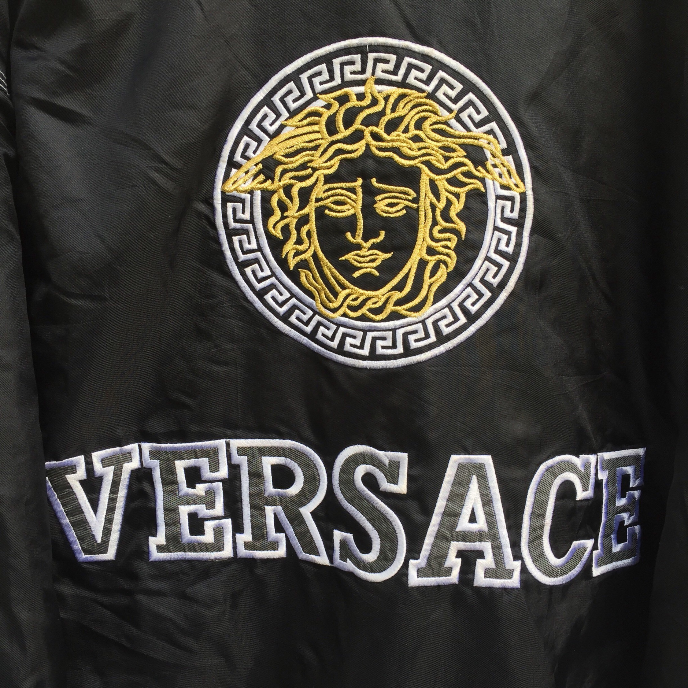 check out ca28c b91ee Vintage Versace Jeans Couture Head Medusa Big Logo