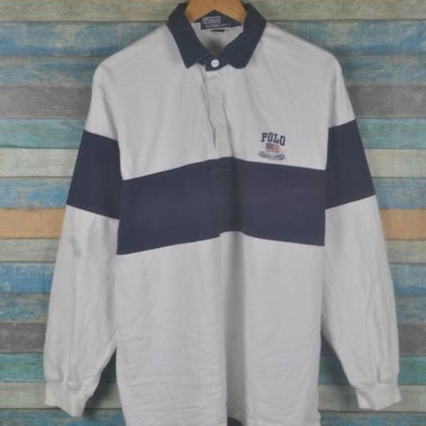 Vintage Polo Ralph Lauren Usa 90S Rugby