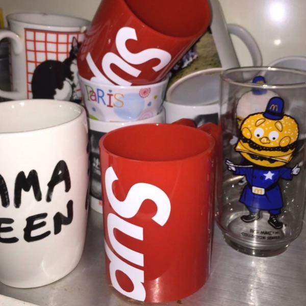 Supreme®/Heller Mugs (Set of 2) Red