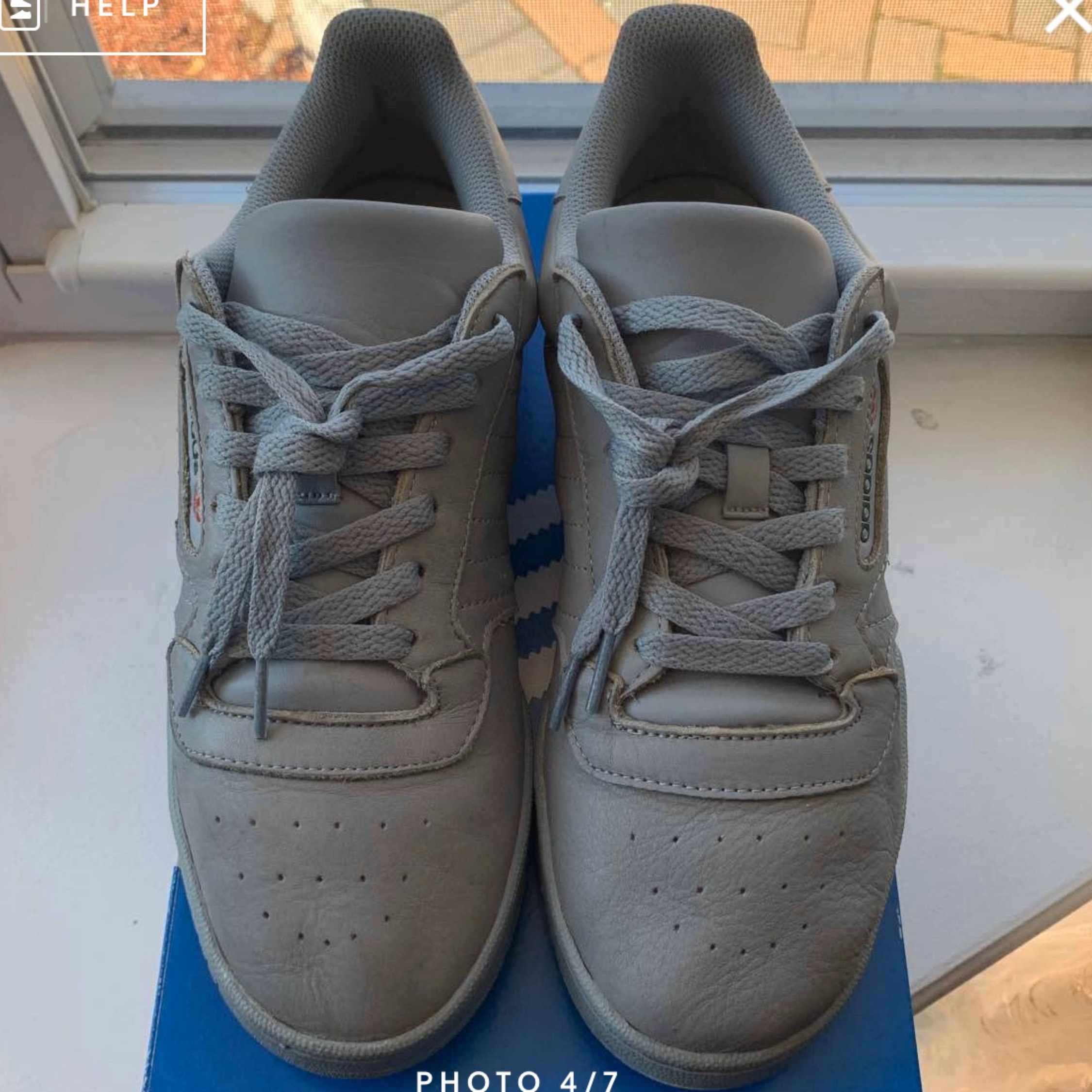 Yeezy Powerphase Calabasas 'Grey' Sz 9 Used