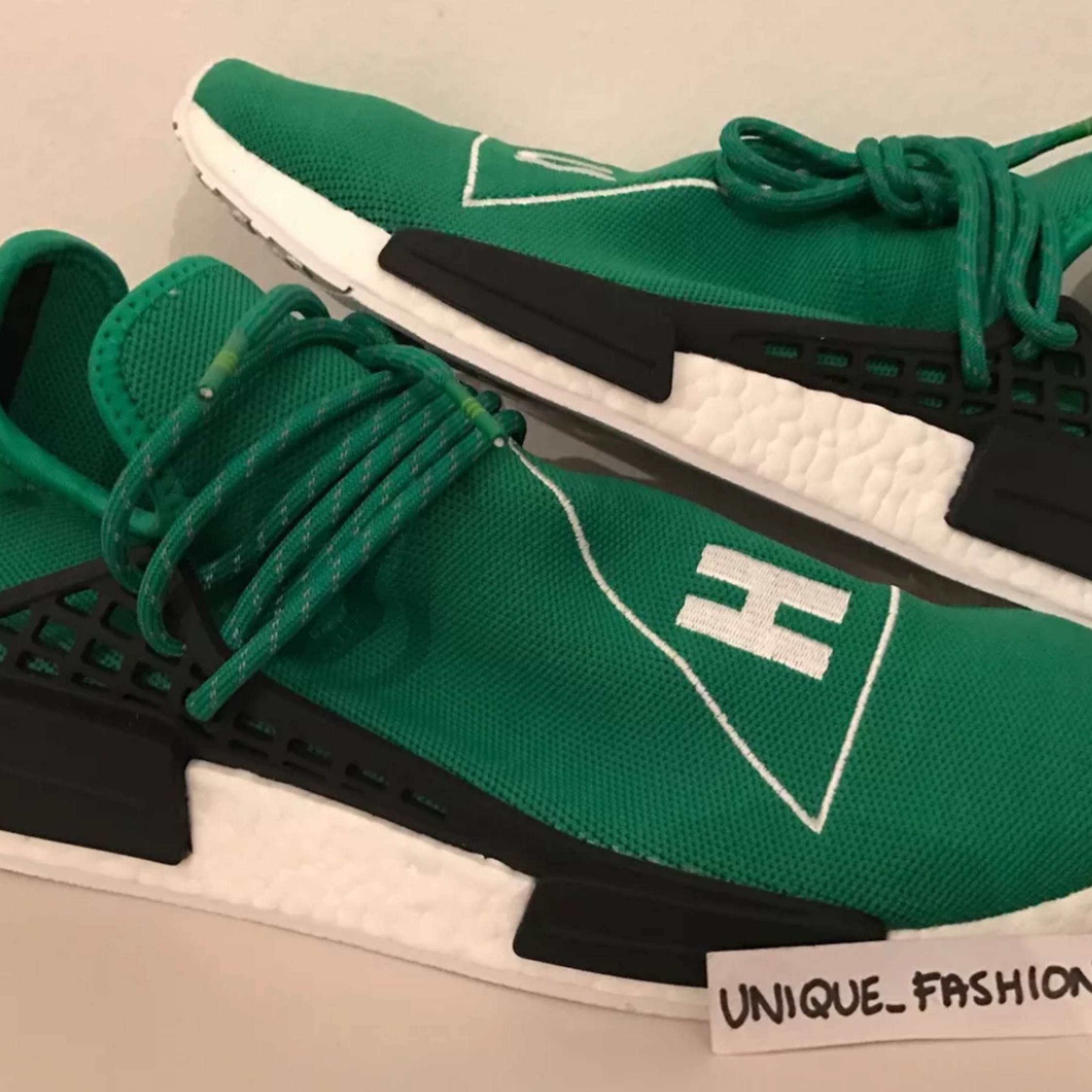 newest 0e6a2 3dfd5 Adidas Nmd Human Race Green White Boost