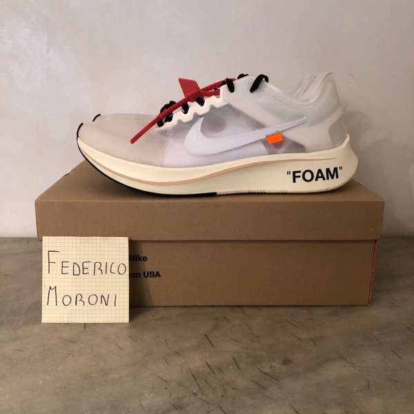 Nike Zoom Fly Off-White 'The Ten'