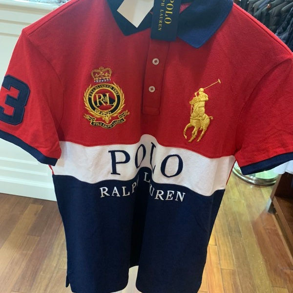 Polo Ralph Lauren Deadstock Polo Crest Series Embroidered Polo