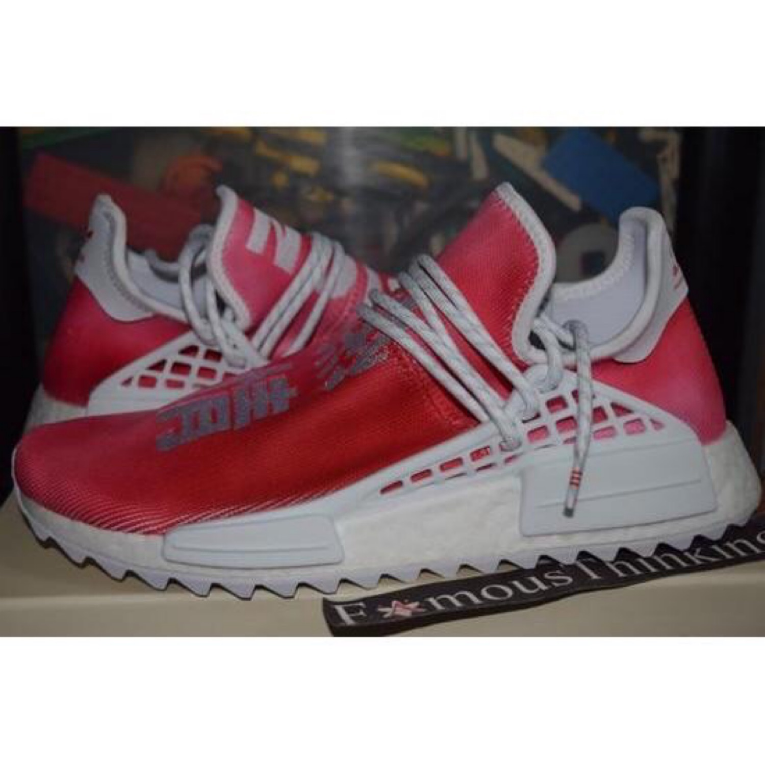 low priced 2bc93 eaaec Adidas Human Race Nmd Pharrell China Red