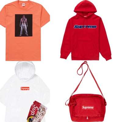 Supreme Box Logo Hoodie Sweatshirt T Shirt Bag New