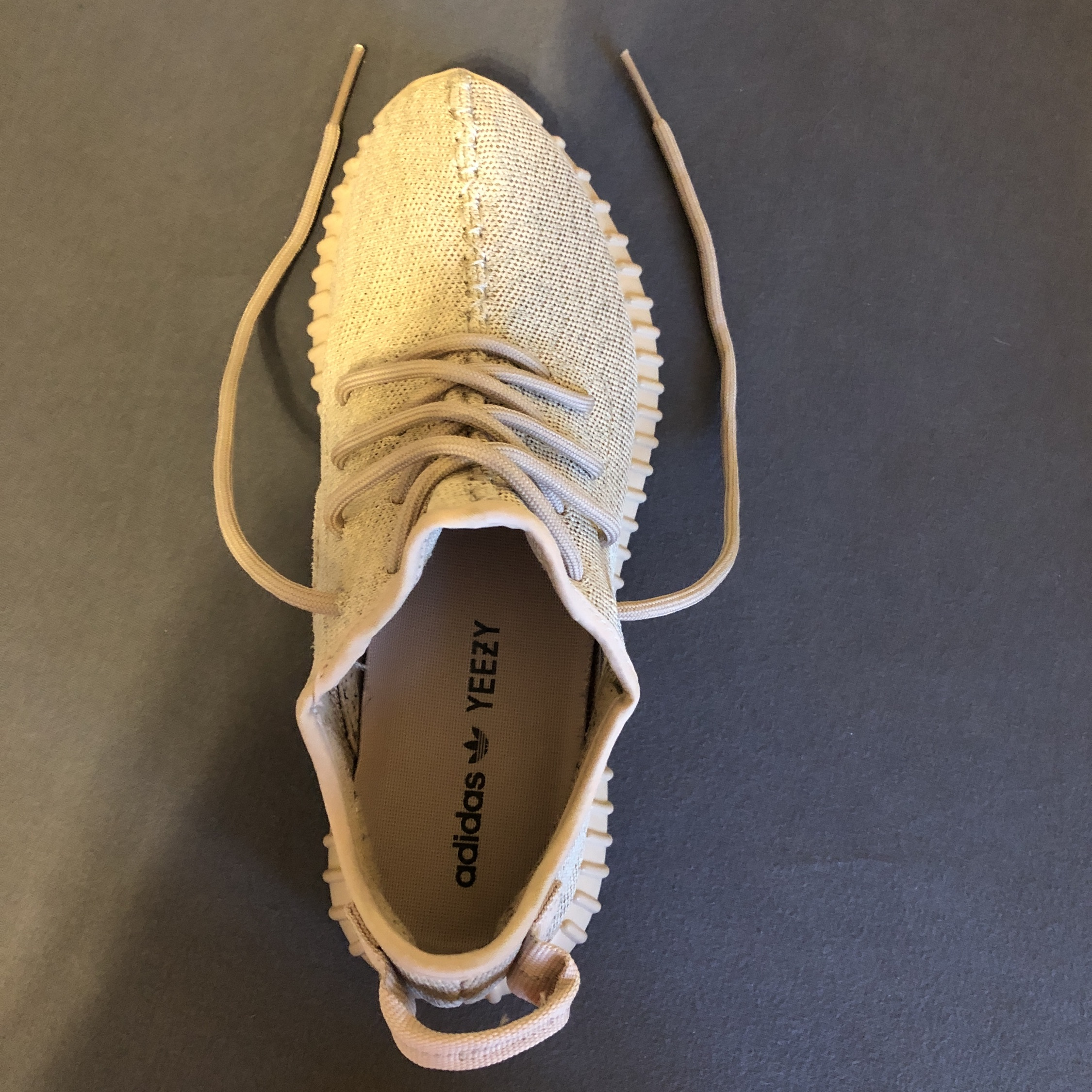 Details about Adidas yeezy boost 350 V1 oxford tan off white supreme