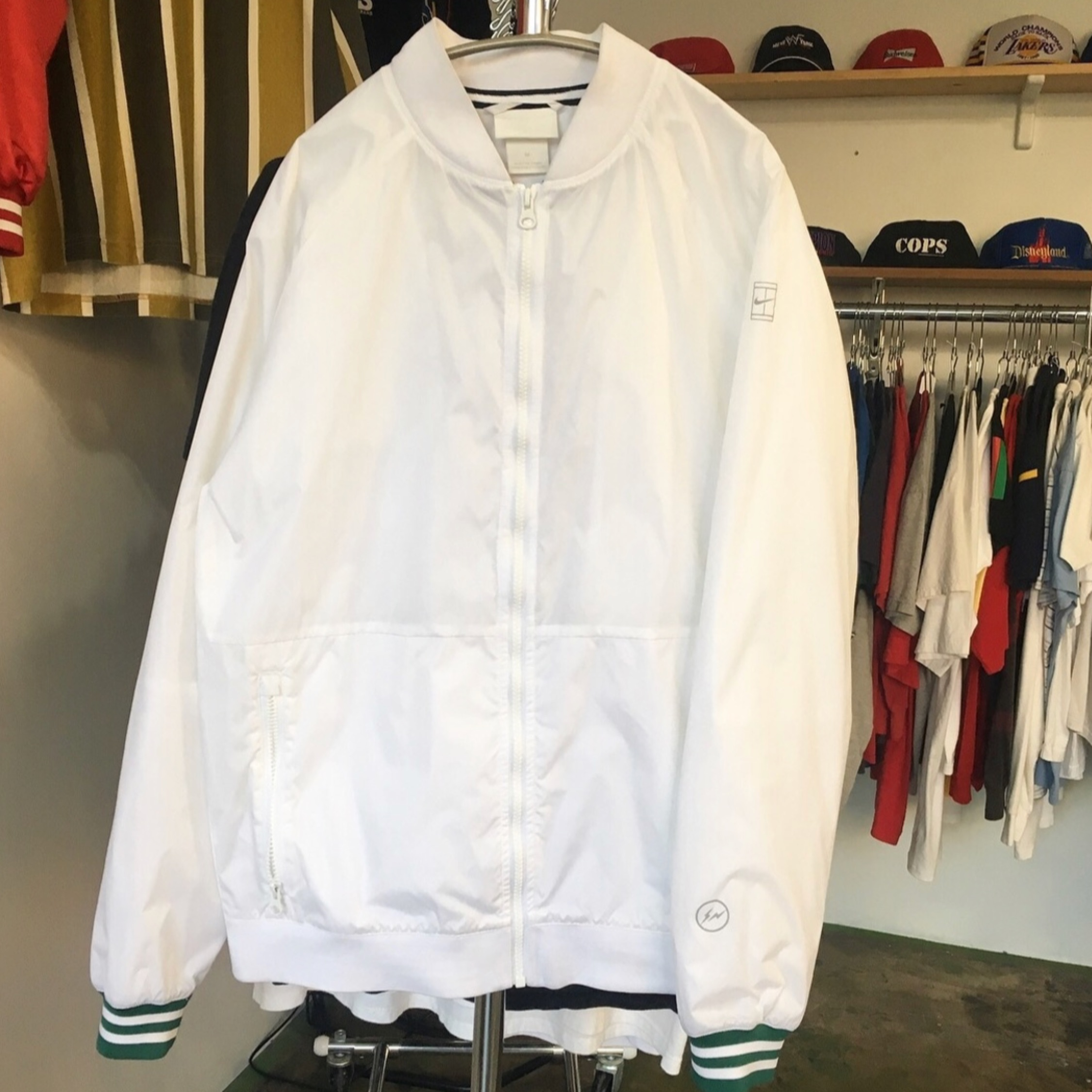 Nike X Fragment Design Tennis Court Bomber Jacket