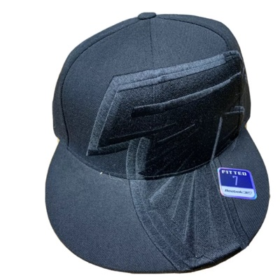 Atlanta Falcons Reebok Black Out Big Logo Fitted