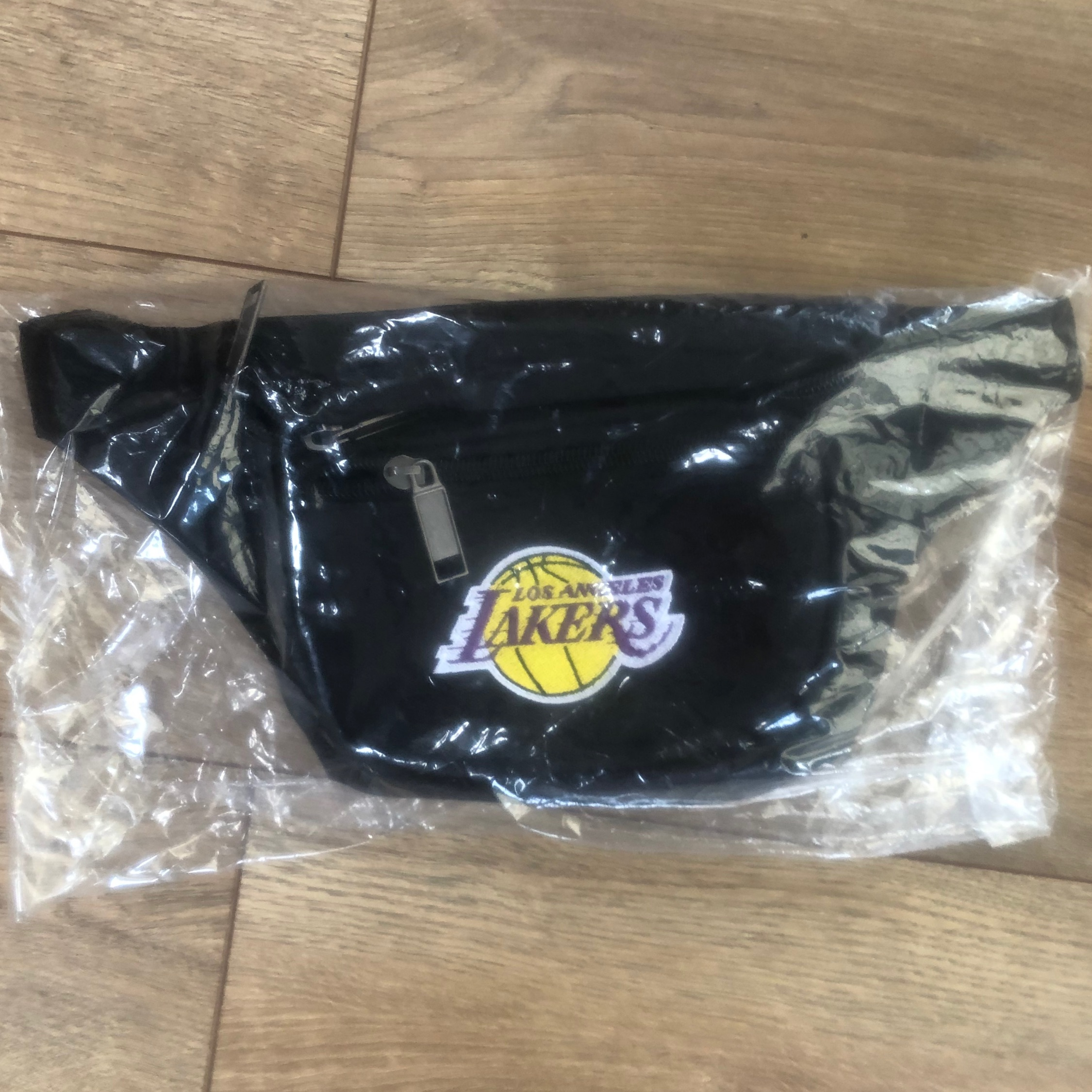 Nba Los Angeles Lakers Official Fanny Pack Black