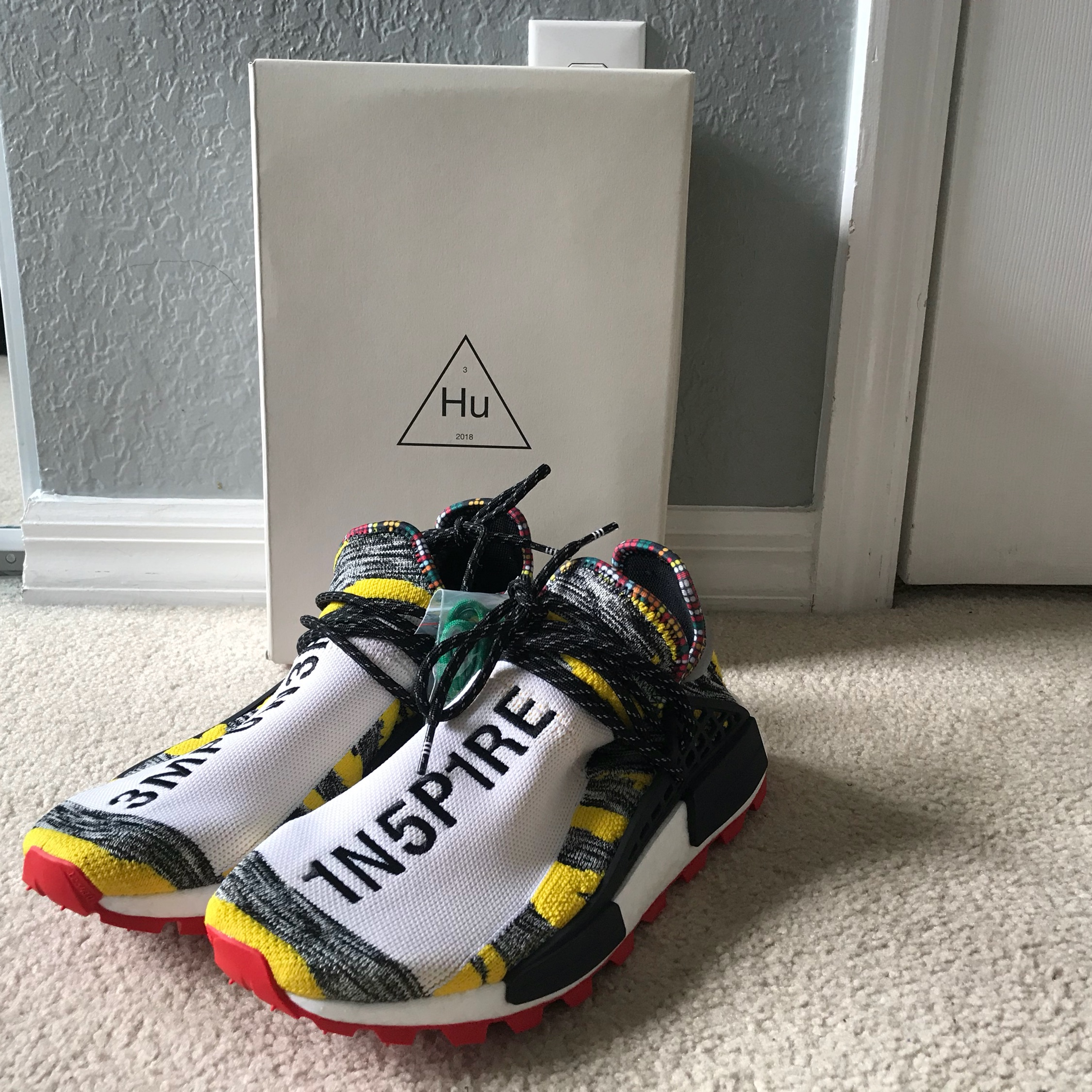 timeless design 825c0 b11df Adidas Nmd X Pharrell William Solar Pack Yellow