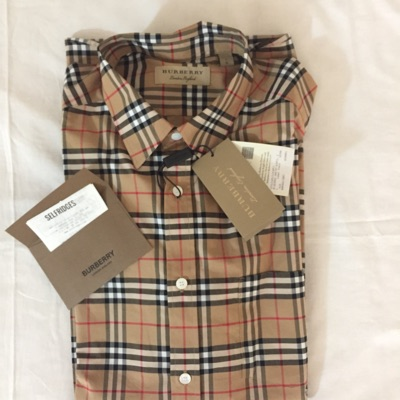 Burberry Shirt New Ds
