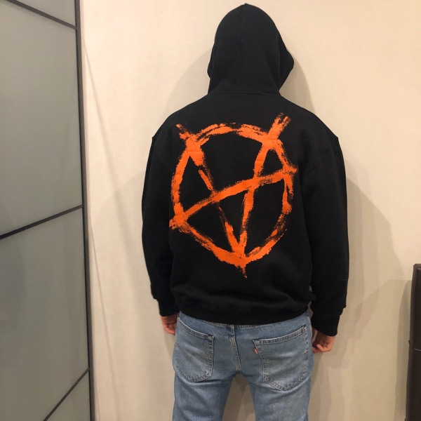 Vetements Mask Hoodie Size S
