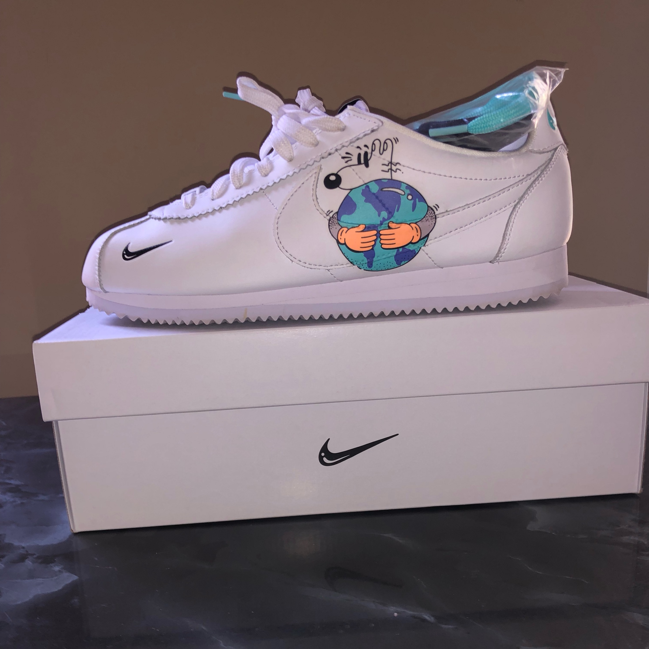 hígado Incontable Retener  Nike Cortez Earth Day