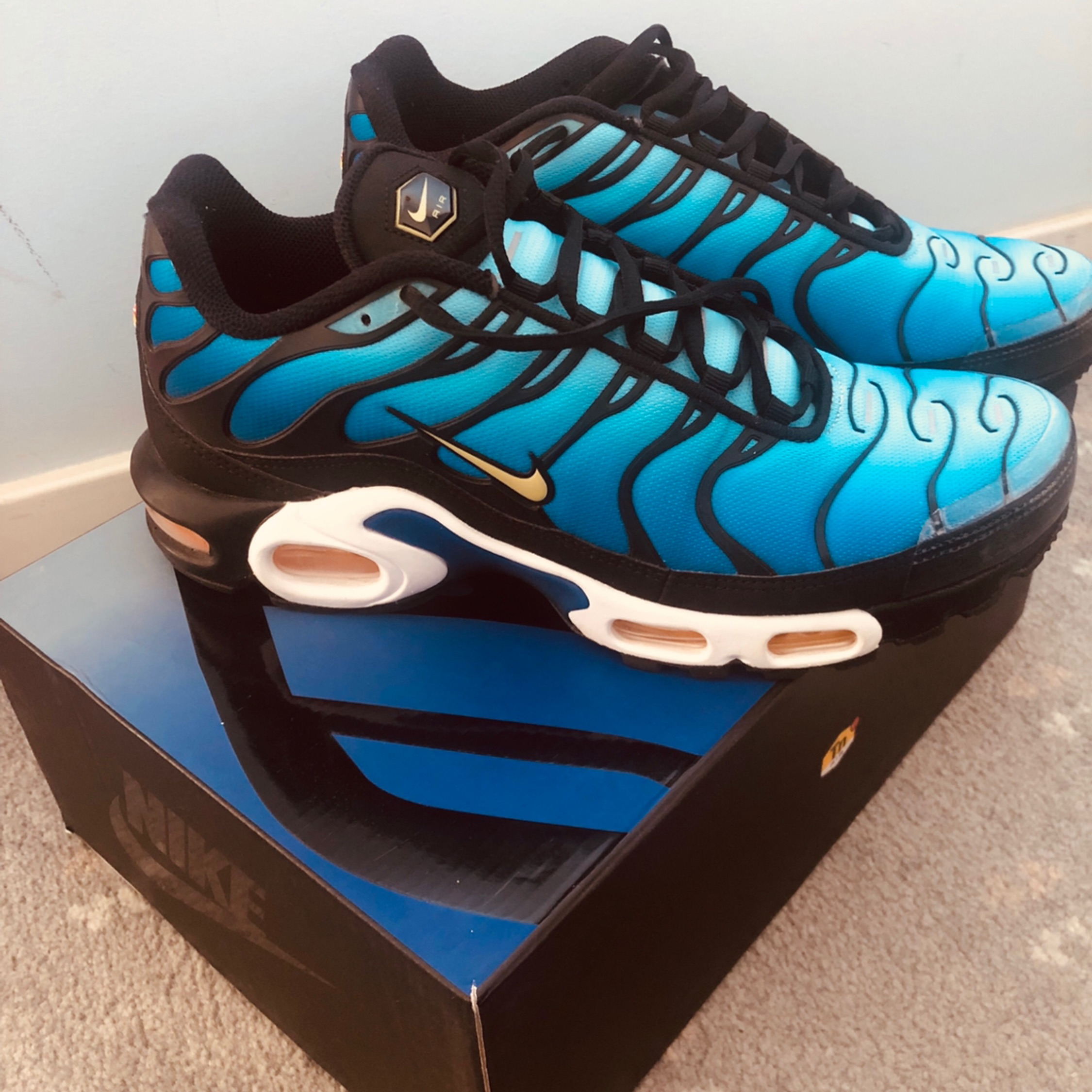 cheap for discount 17dc9 37f2a Nike Air Max Plus Og Tn Hyperblue