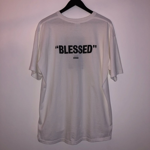 "Supreme ""Blessed"" Tee White"