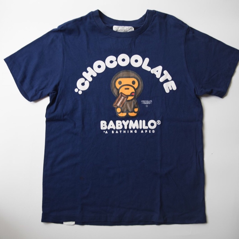 Bape Milo Chocoolate Tee (S / USED)