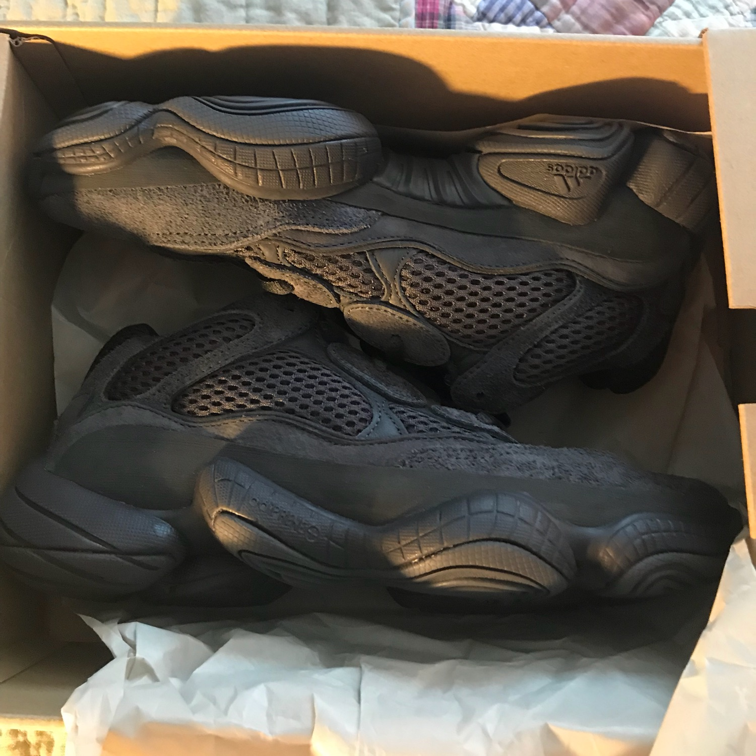 arrives 64bc5 8fd23 Adidas Yeezy 500S Utility Black Ds