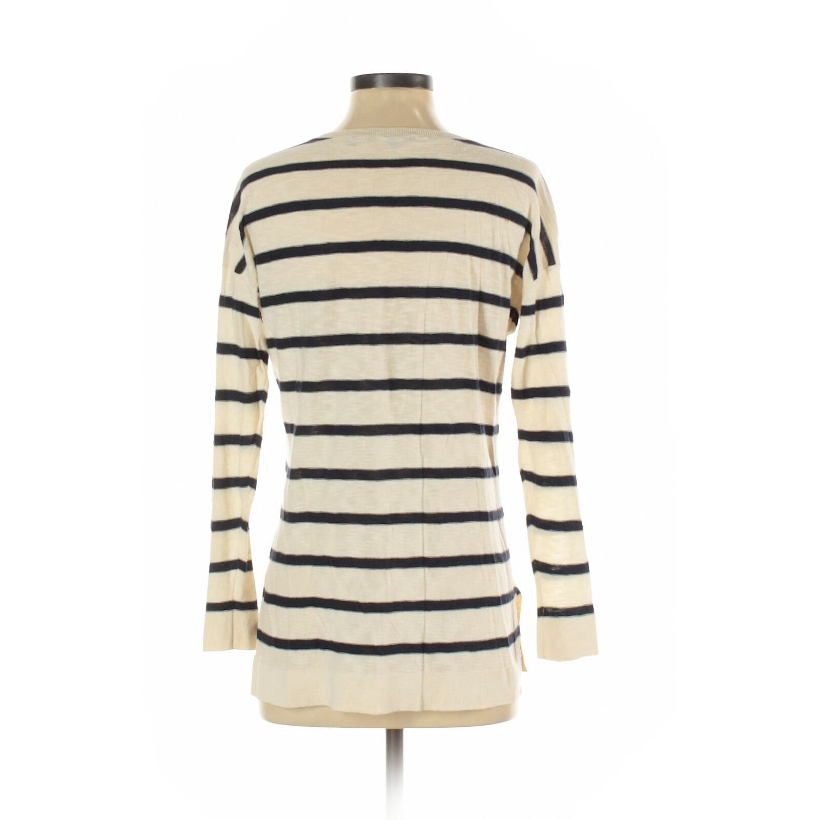 Vince. Women Ivory Long Sleeve Top S