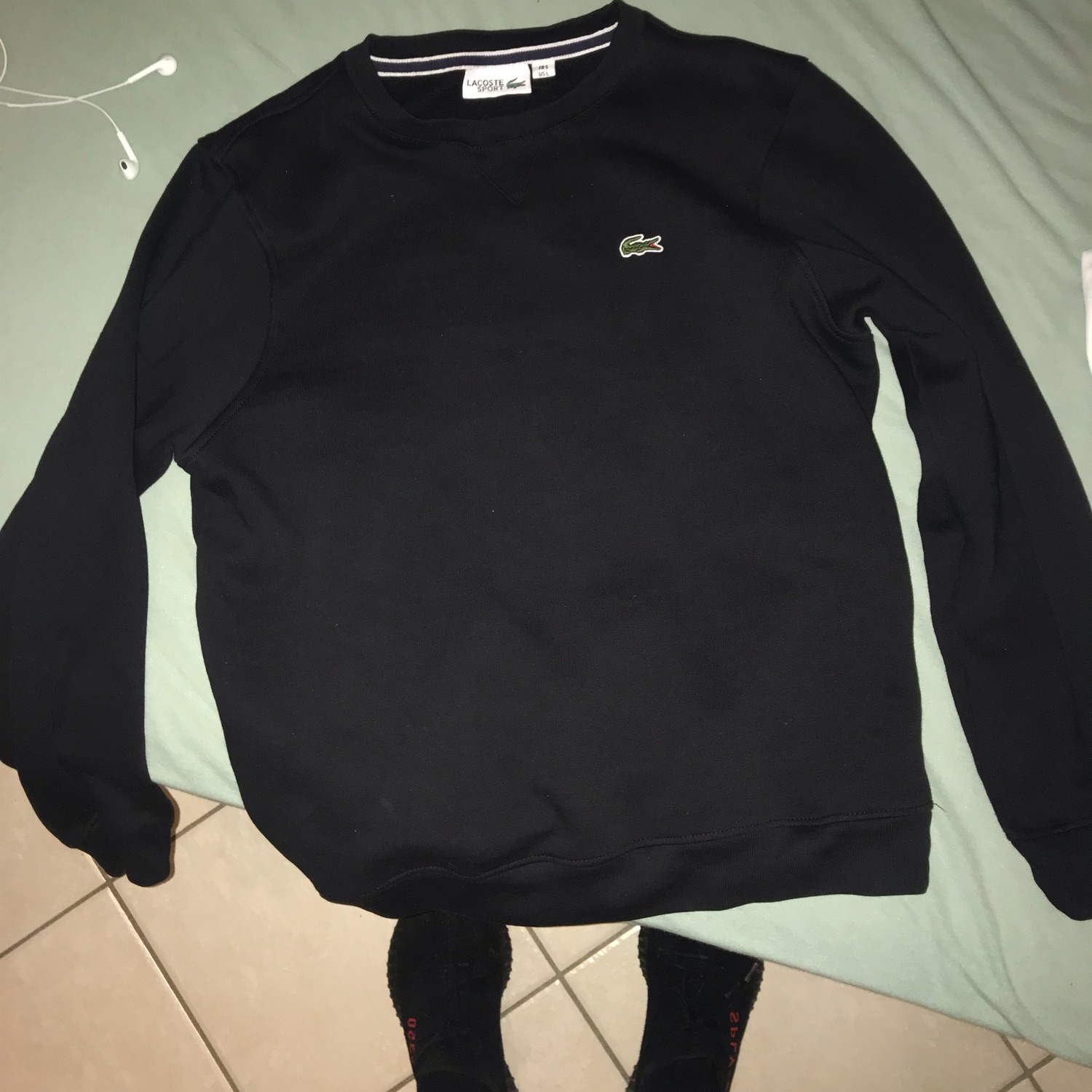 aliexpress grande remise Super remise Pull Lacoste