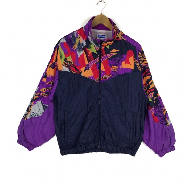 Vintage 90'S Recorder Product By Asics Jacket