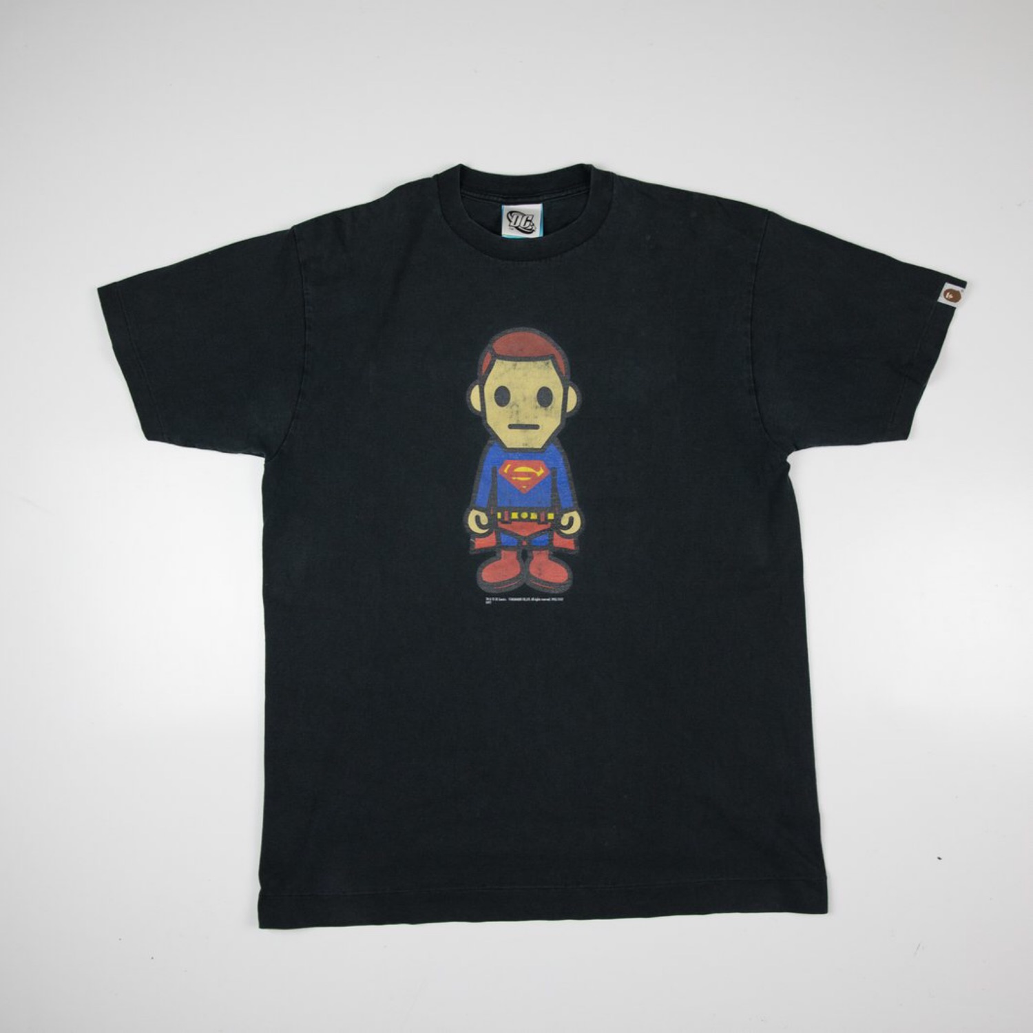 Bape X Dc Comics Superman Tee (Used - Large)