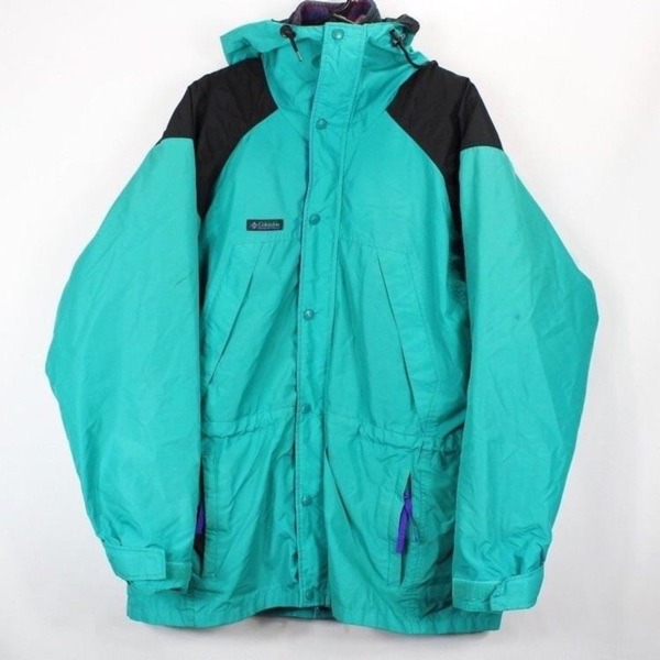 Vintage Columbia Parka Fleece Jacket