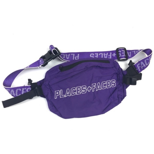 Places And Faces Waistbag Purple