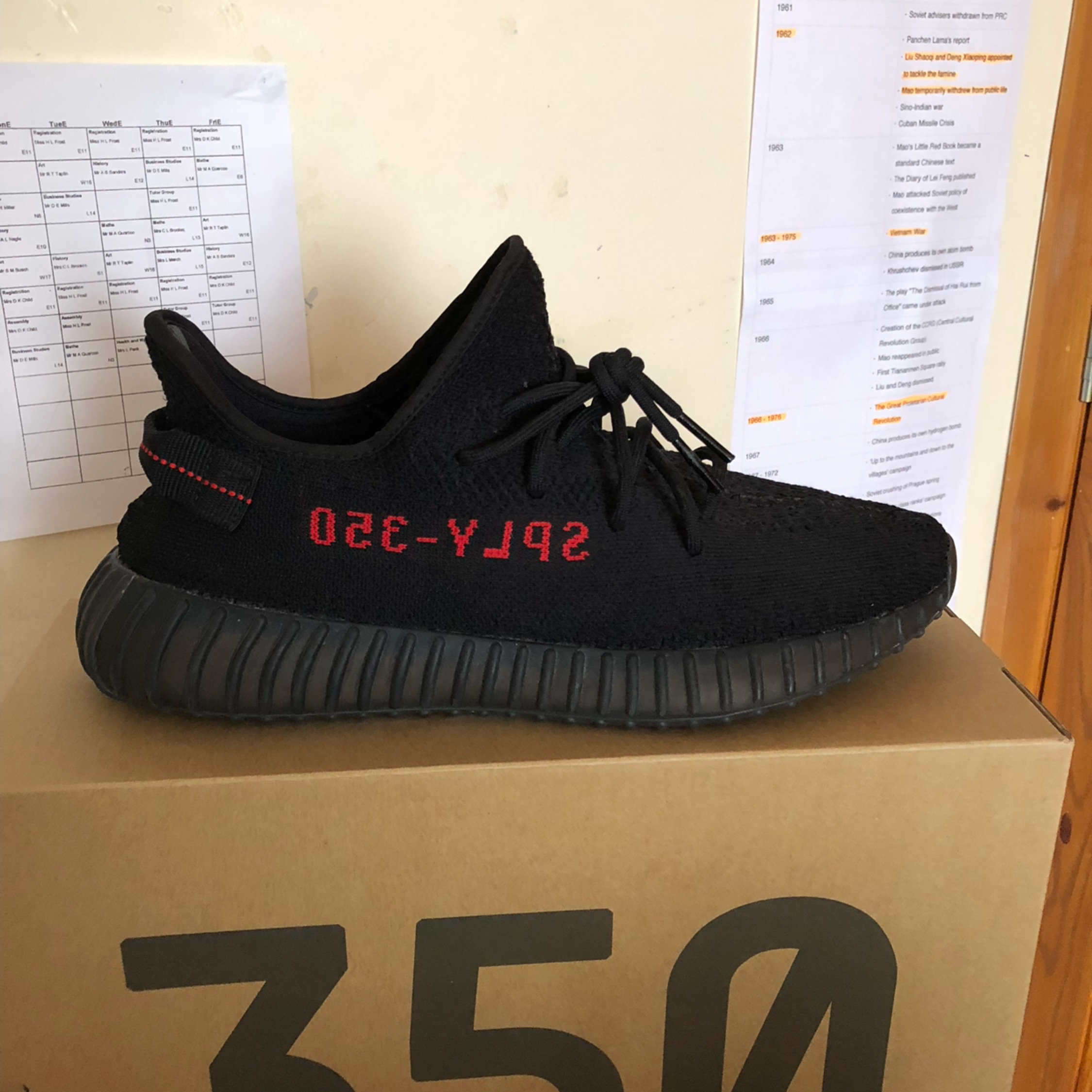 the latest 1edef a1204 Yeezy Boost 350 V2 Bred, Black And Red