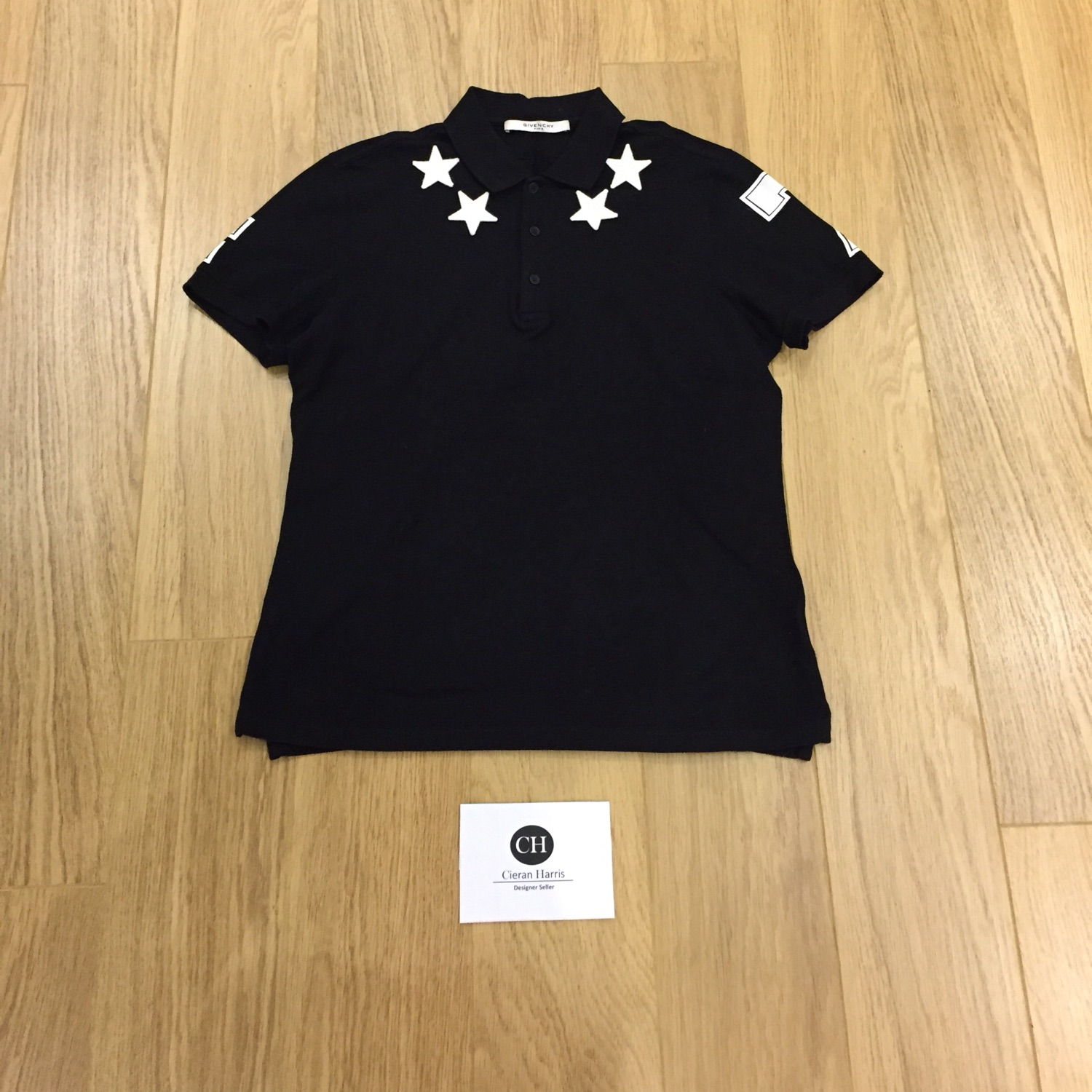 best service 92eea e2ccc Givenchy Star Polo Shirt Size Small Men's!!