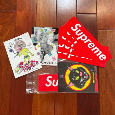 Supreme Sticker Bundle Pack