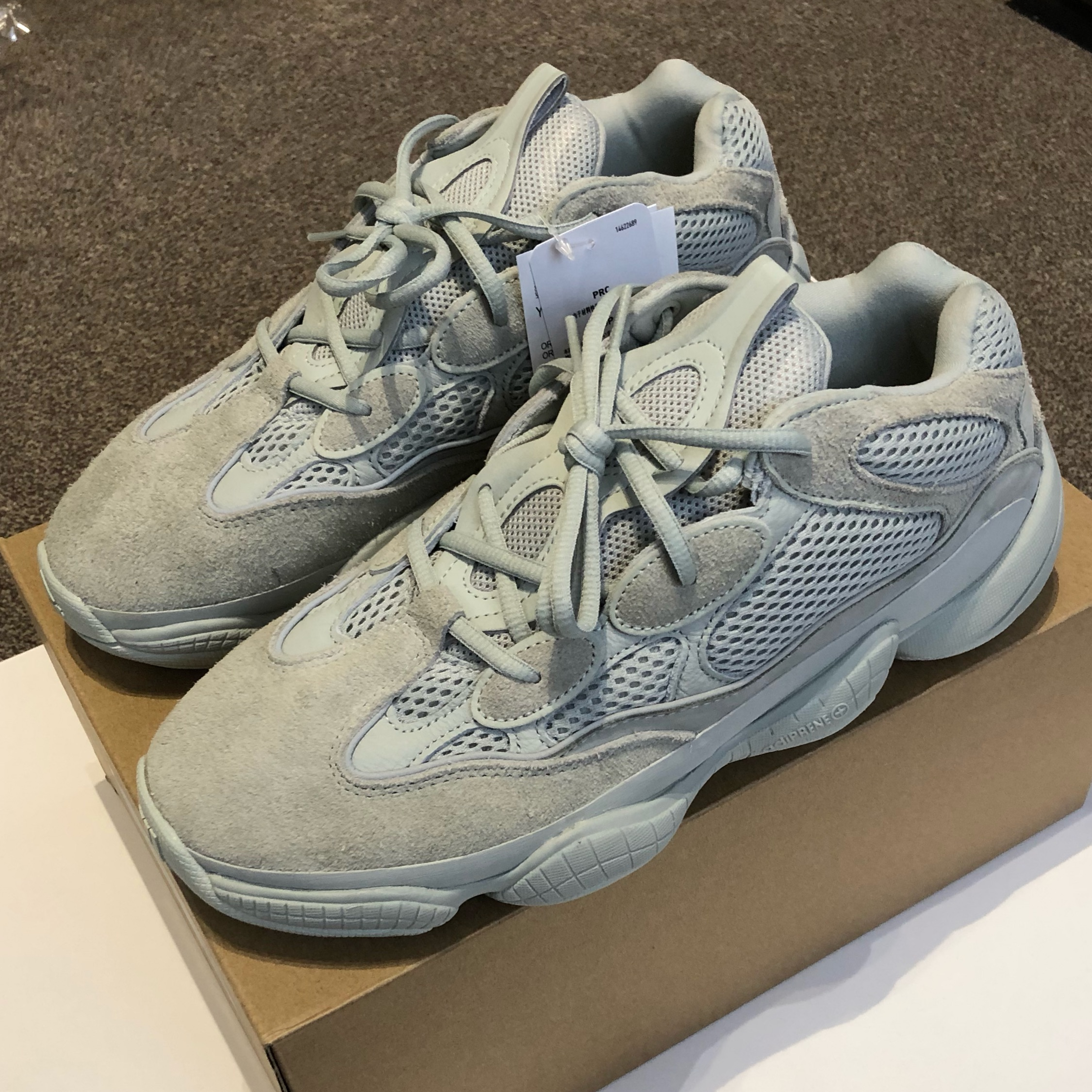 big sale 1b656 ad04d Adidas Yeezy 500 Salt