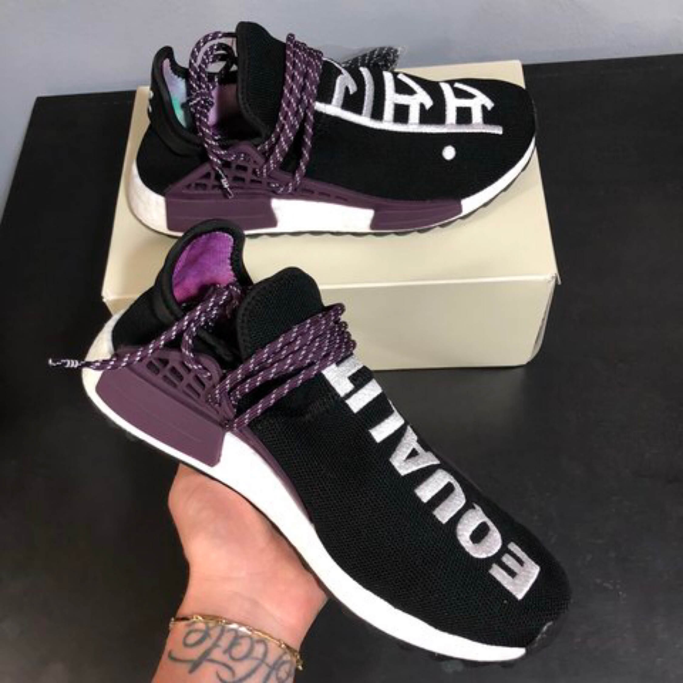 promo code e25b4 89a66 Adidas Human Race Nmd Equality Pharrell Williams