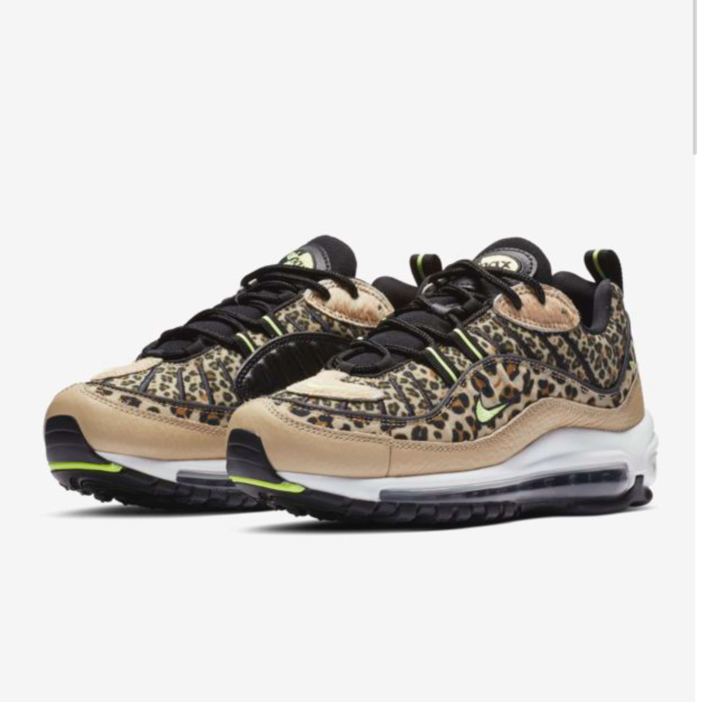ee176b530d Nike Air Max 98 Premium W 'Animal Pack' Uk 6.5