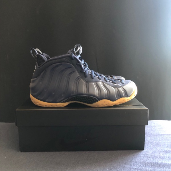 NIKE AIR FOAMPOSITE ONE CRACKED LAVA SIZE 13 ...
