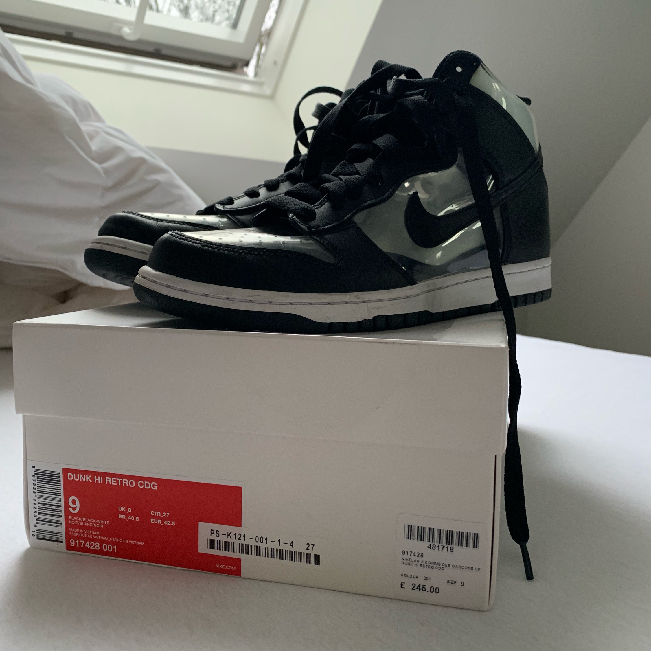 buy popular a289f 4c909 Nike X Comme Des Garcons Dunk High