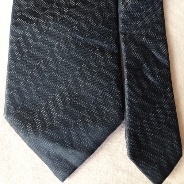 Paul Smith Blue Tie Made In Italy 100% Silk