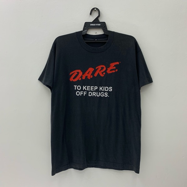 D.A.R.E Vintage 80S T Shirt To Keep Kids Off Drugs
