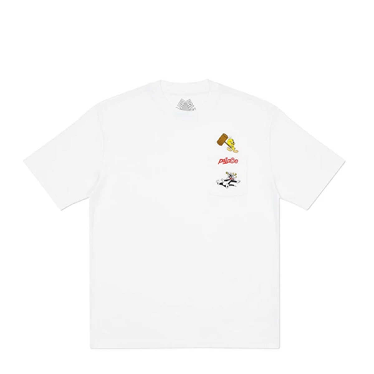 Palace X Looney Tunes T-Shirt White