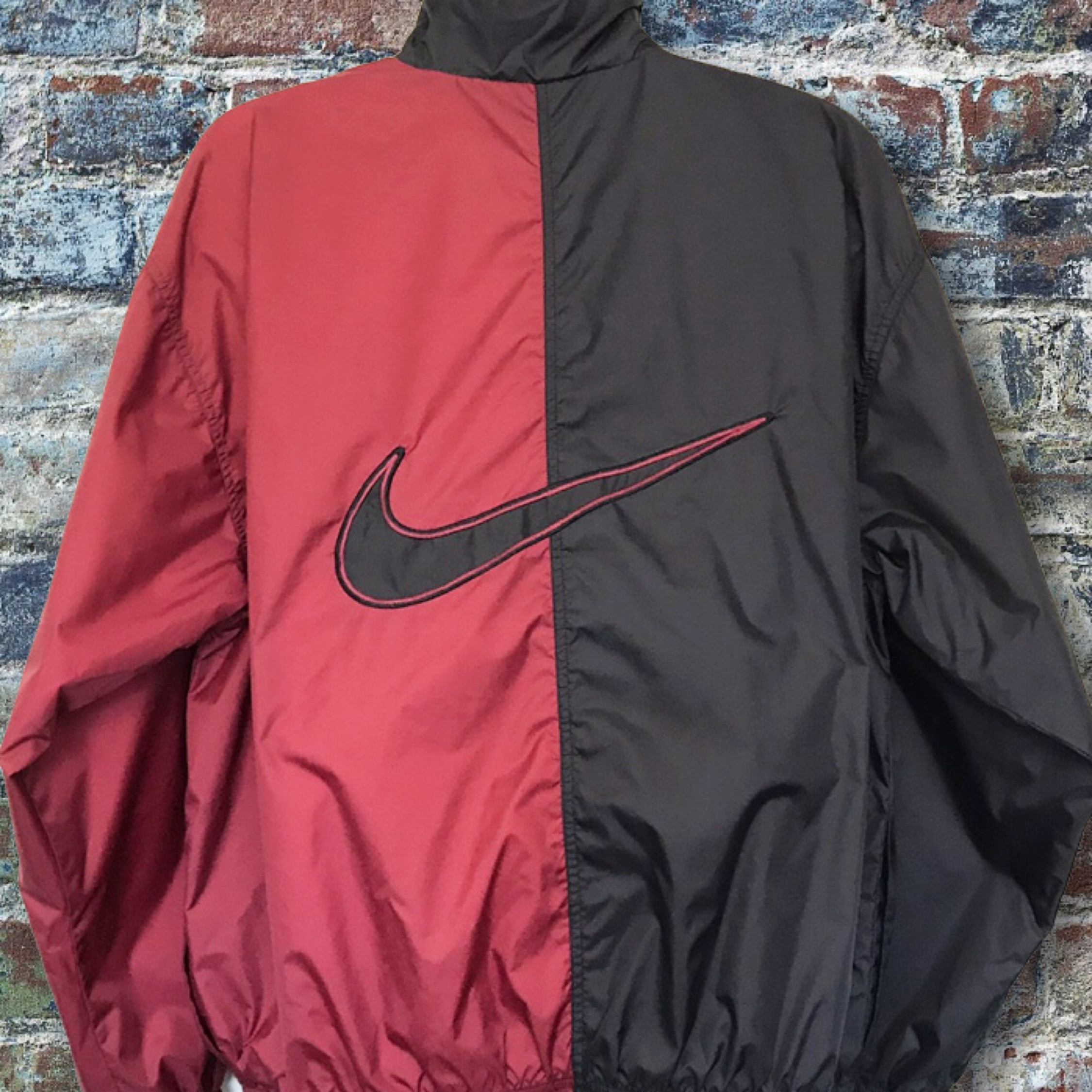 save up to 80% new york buy cheap Vintage 90S Nike Color Block Big Logo Windbreaker