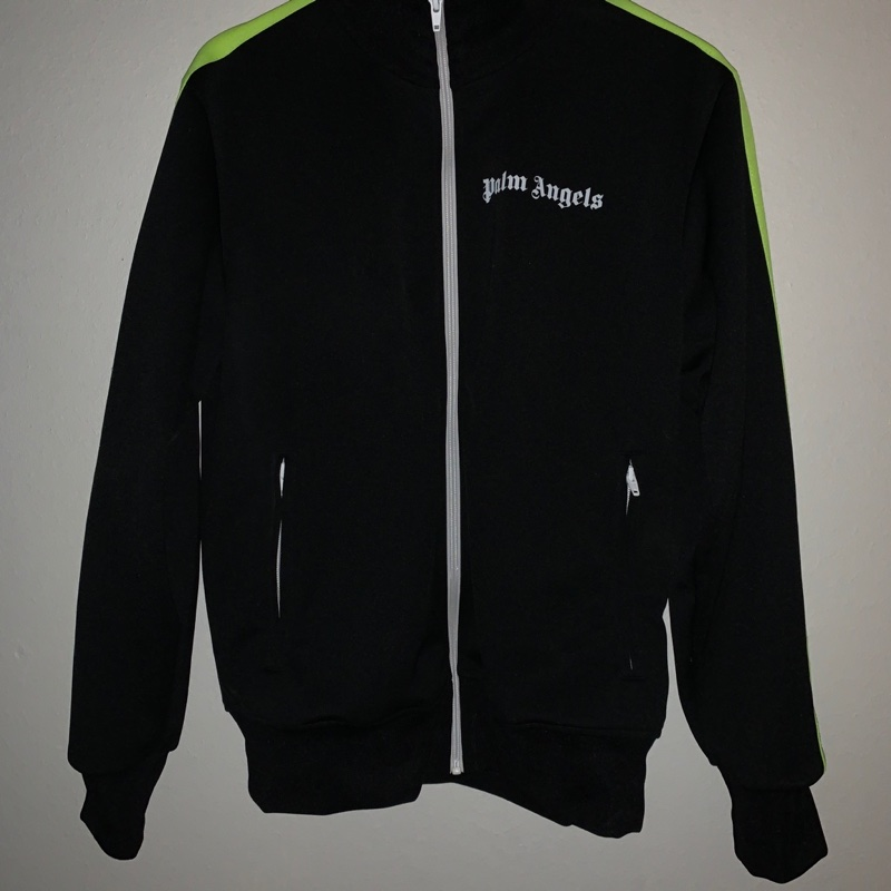 Palm Angles Track Jacket Neon L