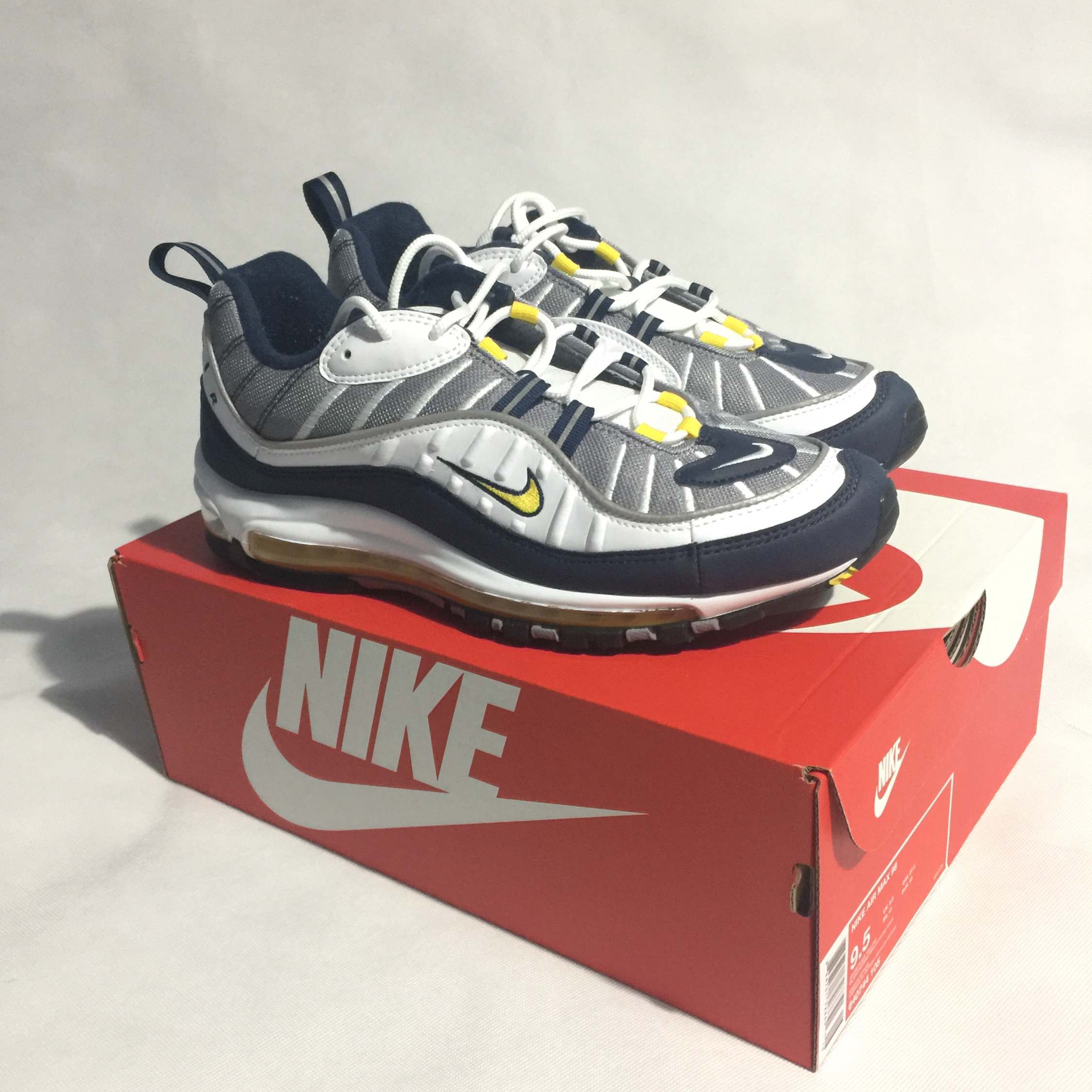 Nike Air Max 98 giallo