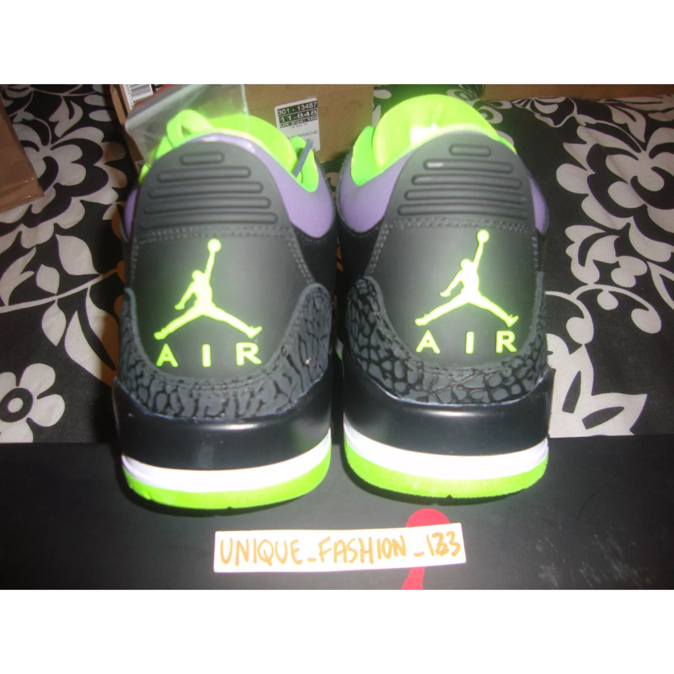 best service 128a7 97e98 2013 Nike Air Jordan Retro 3 Joker