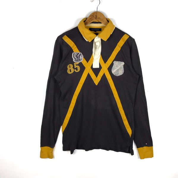 Vintage Tommy Hilfiger Long Sleeve Rugby Shirt