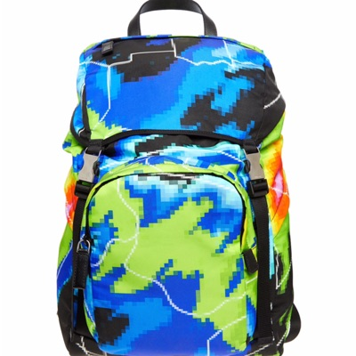 New Prada Psychedelic Backpack