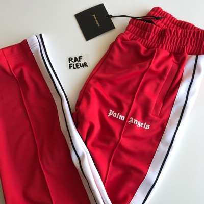 Palm Angels Track Pants Red