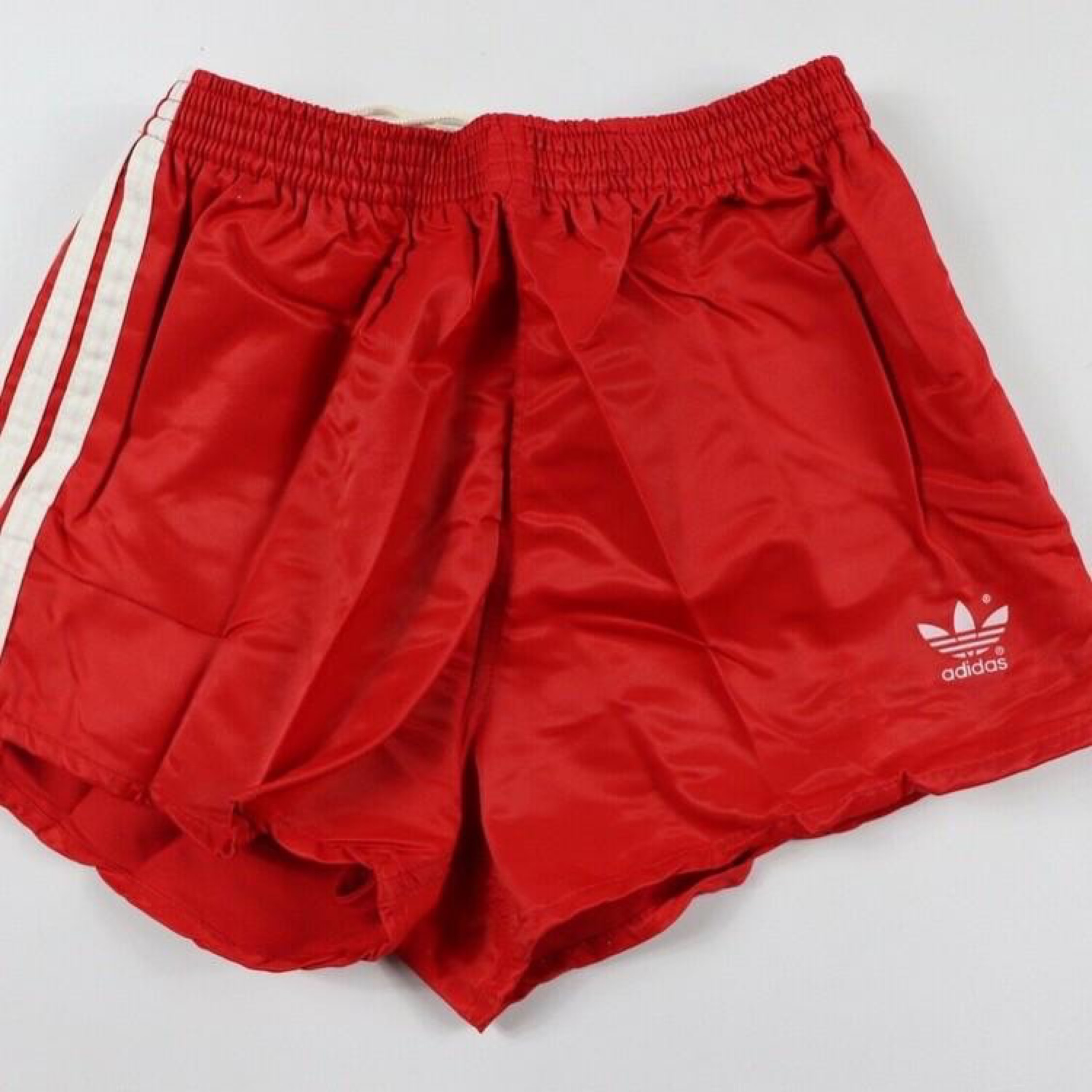 Vintage Adidas Spellout Soccer Shorts