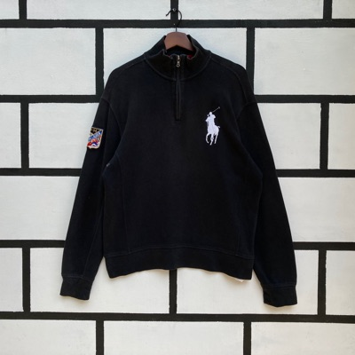 Polo By Ralph Lauren Sweatshirt Half Zip Up