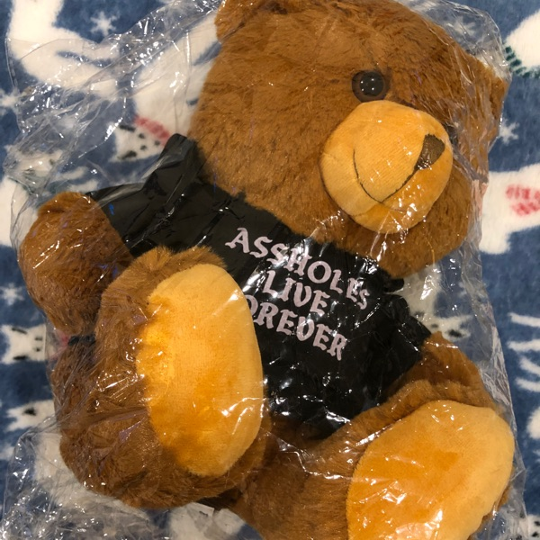 Alf X Slutwhisperer Bear With Hoody