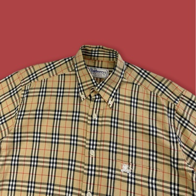 Burberry Nova Check Short Sleeve Shirt