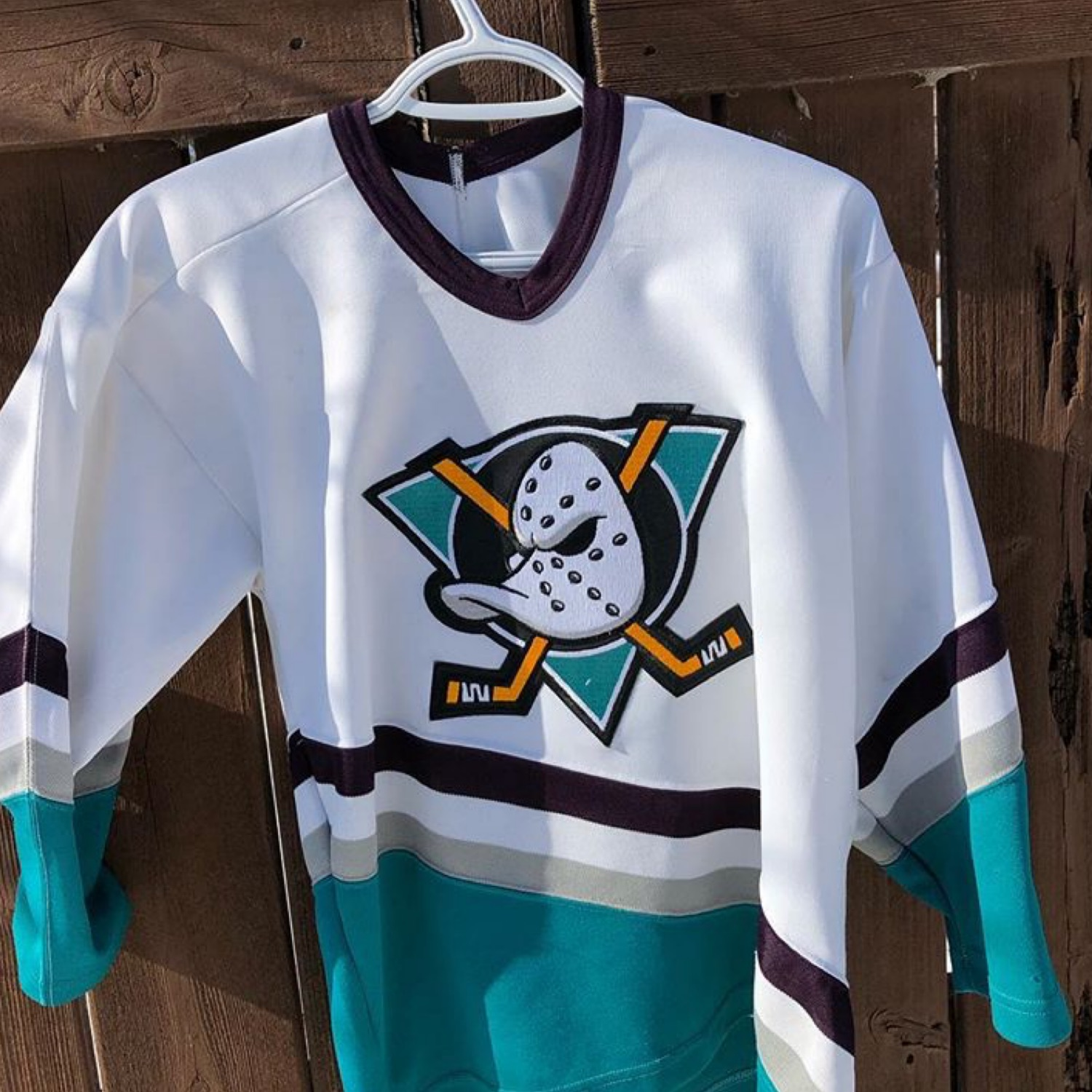 cheap for discount e8d78 d572b Vintage Mighty Ducks Nhl Jersey